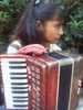 girl with accordian